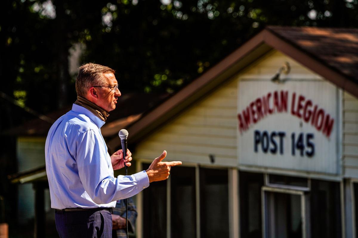Collins brings Senate bid to Douglasville