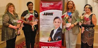 ABWA installs new officers