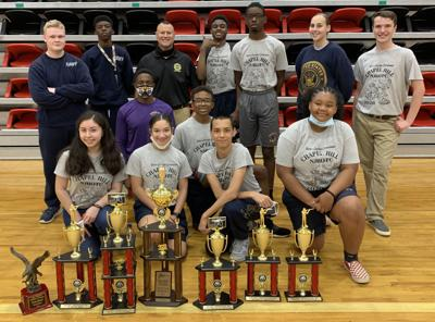 Chapel Hill High NJROTC takes top honors in Cairo
