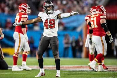 Gill ready to get back on field for Bucs