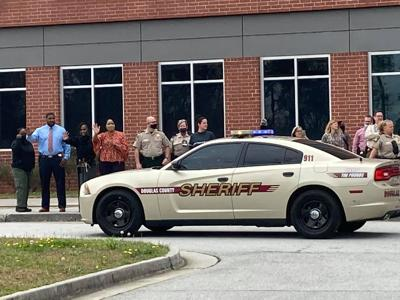 Capt. Brown gets sheriff's escort as 31-year law enforcement career ends
