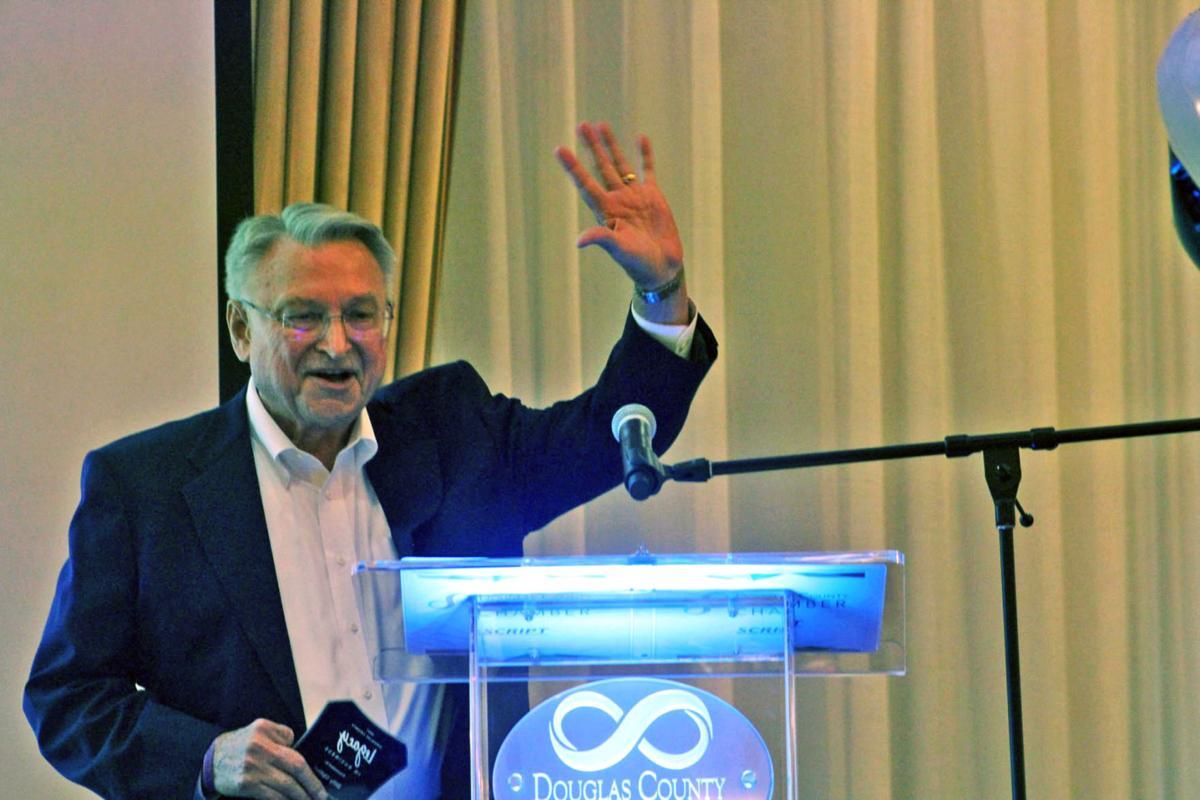 Upton wins legacy award for business longevity