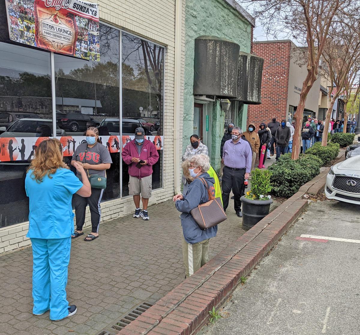 Premier, Tito's, councilman team to bring walk-up shots to Douglasville