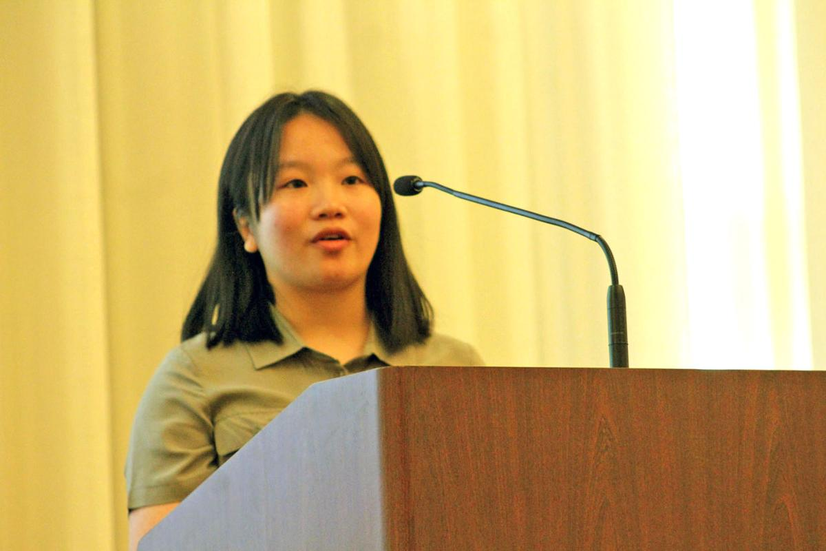 Zhu continues DCHS's legacy of producing the county's STAR Student