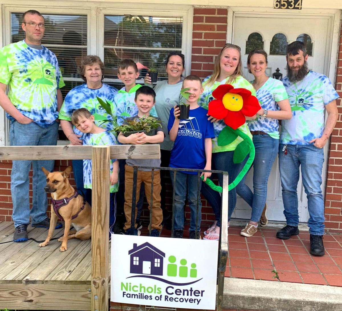Nichols Center starts plant shop; Funds raised to help support recovery efforts