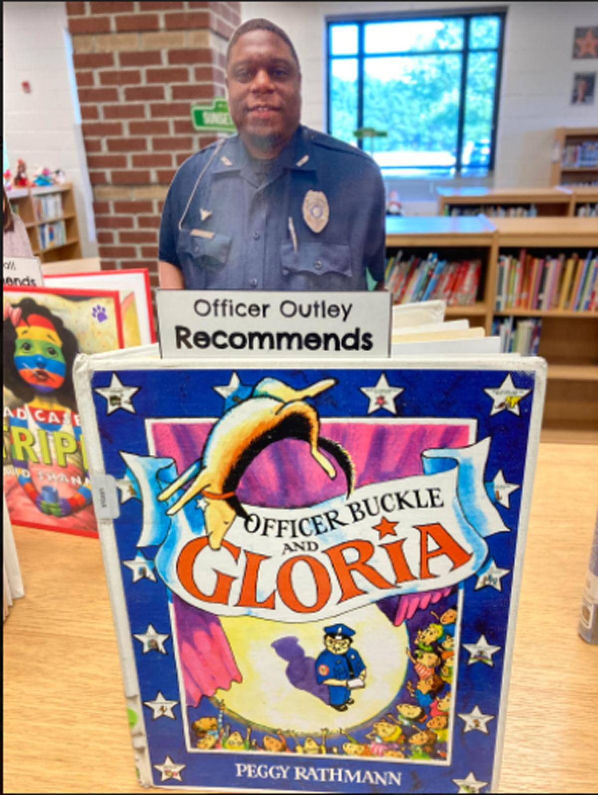 SRO Outley praised by CHES principal for creating 'community of positivity'