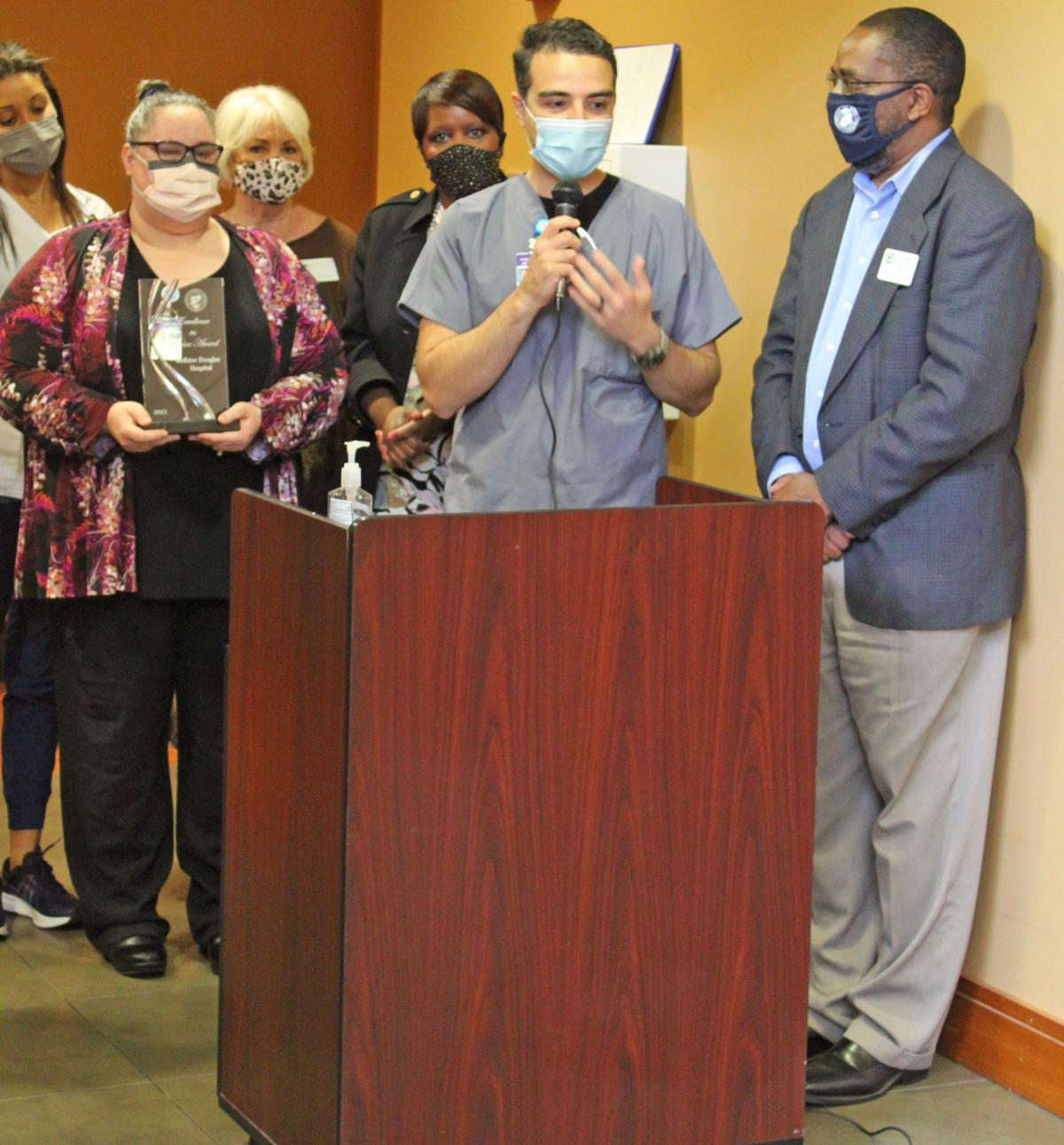 BOC recognizes Wellstar Douglas workers