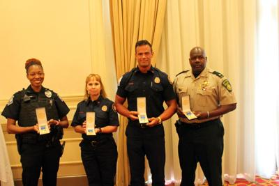 Rotary Club honors first responders with service awards