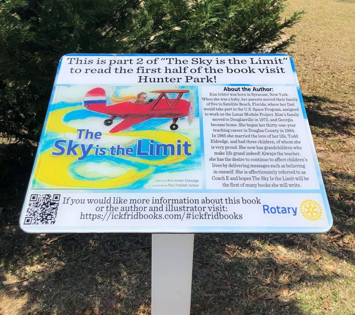 Rotary's new 'StoryWalk' encourages literacy, physical activity at local parks