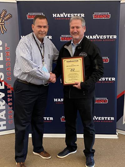 Harvester Christian honors generosity of Sewell, CKS Packaging