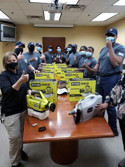 Fire & EMS purchases 10 foggers for COVID-19 decontamination