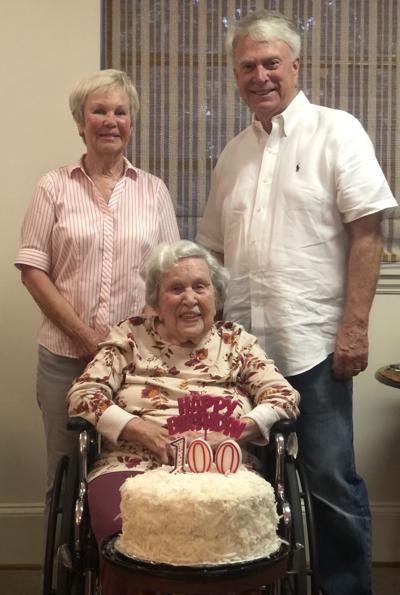 Thornton celebrates 100th birthday