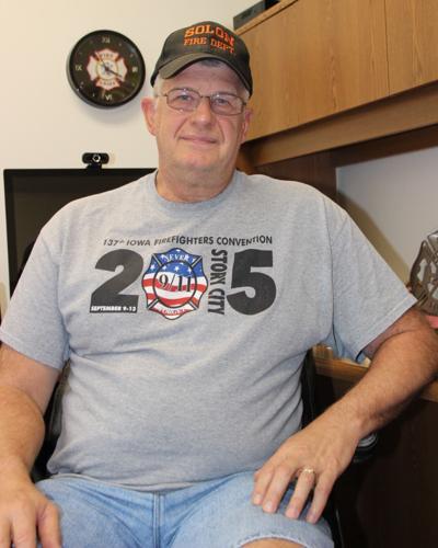 Bob Siddell, Solon Fire Chief