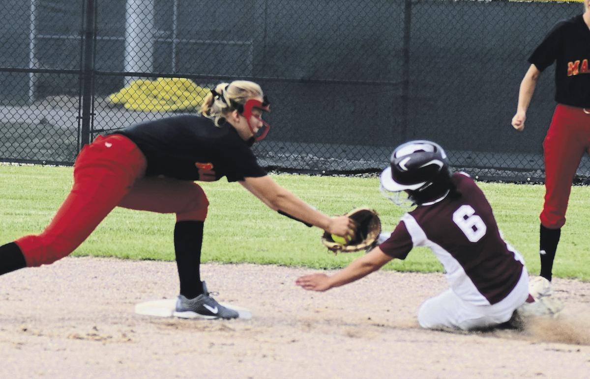 Mount Vernon softball -Ashlyn Steen