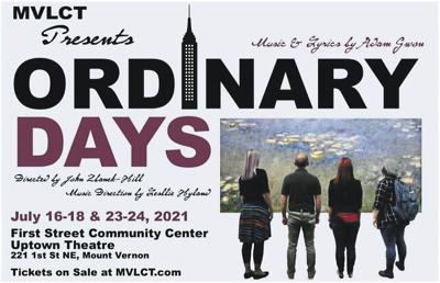 MVLCT presents Ordinary Days