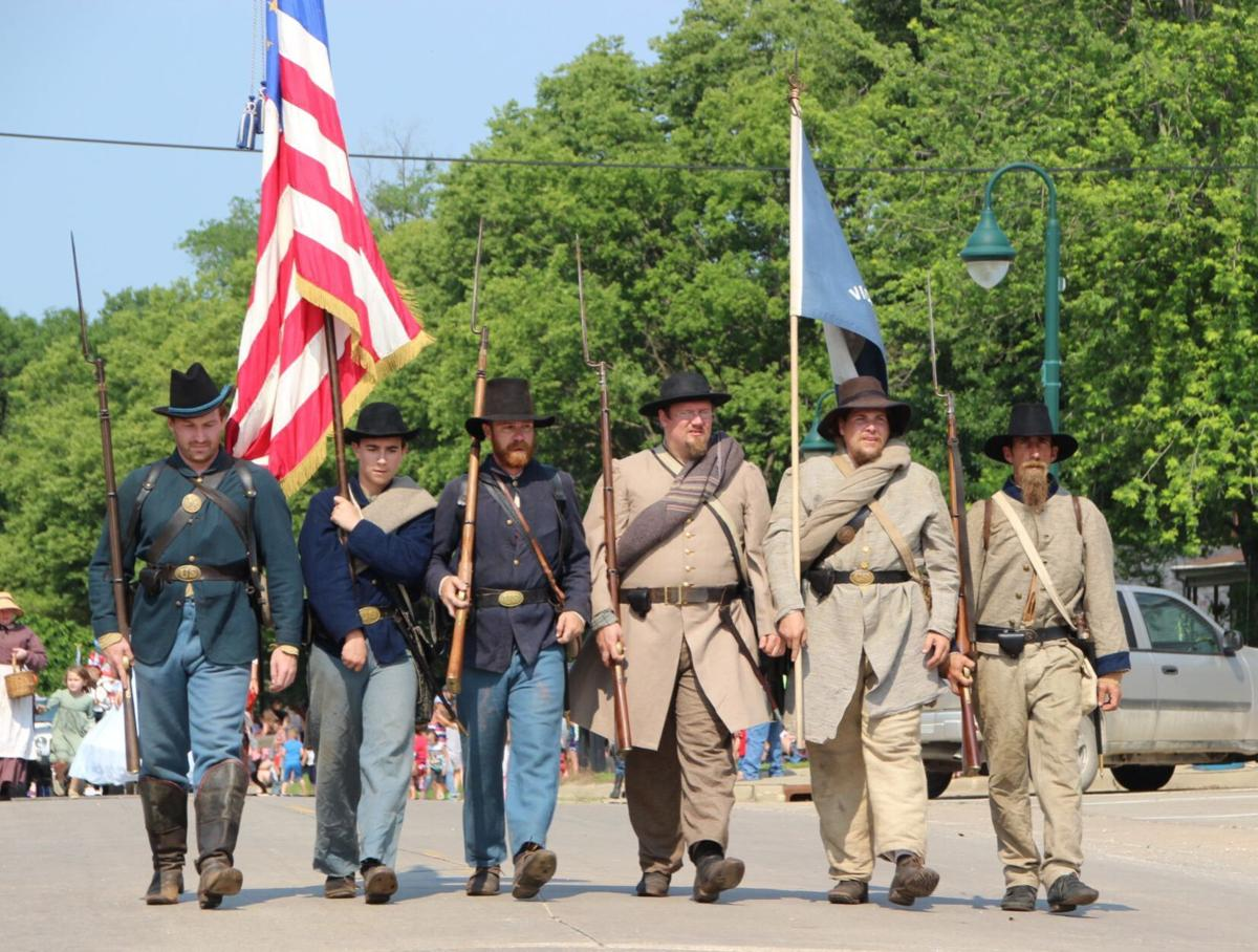 Kentucky CoB Civil War living historians