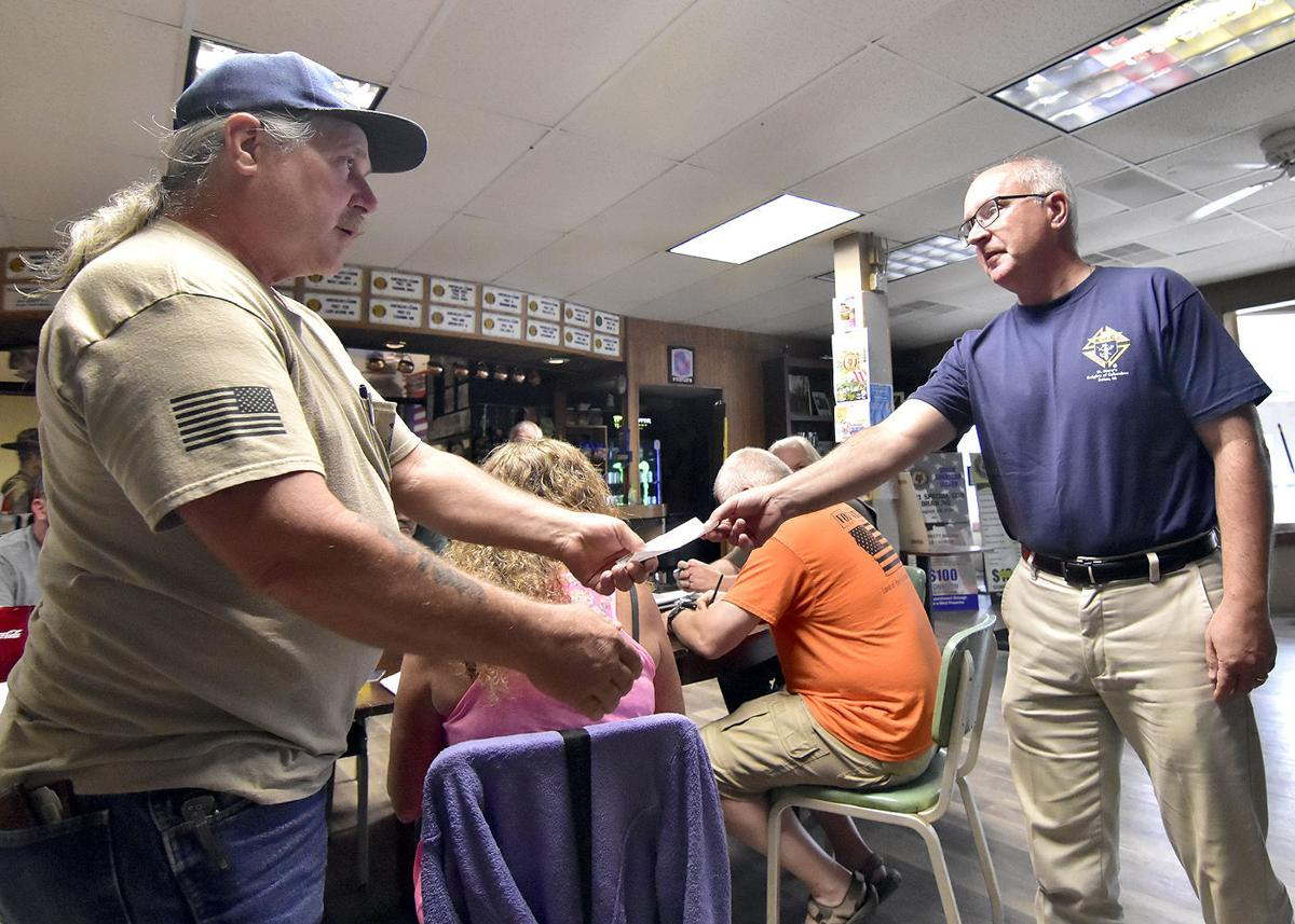 Solon American Legion receives donation for Moving Wall