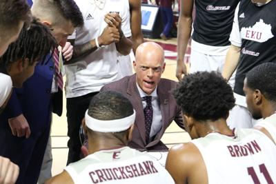EKU men's basketball coach A.W. Hamilton beats cancer