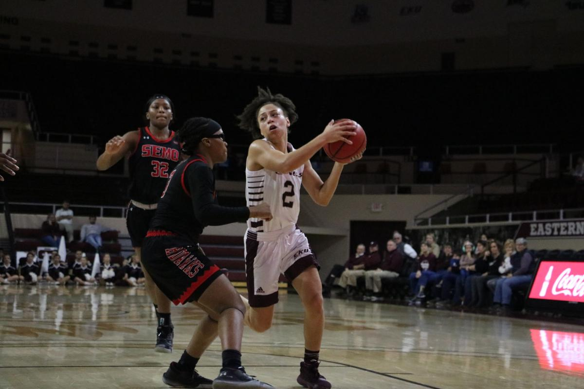 PHOTOS: EKU women's basketball falls to SEMO and 2-8 in the OVC