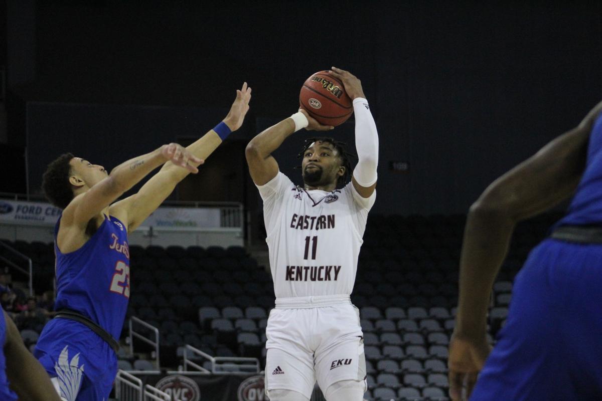 EKU men's basketball defeats TSU in OVC quarterfinals