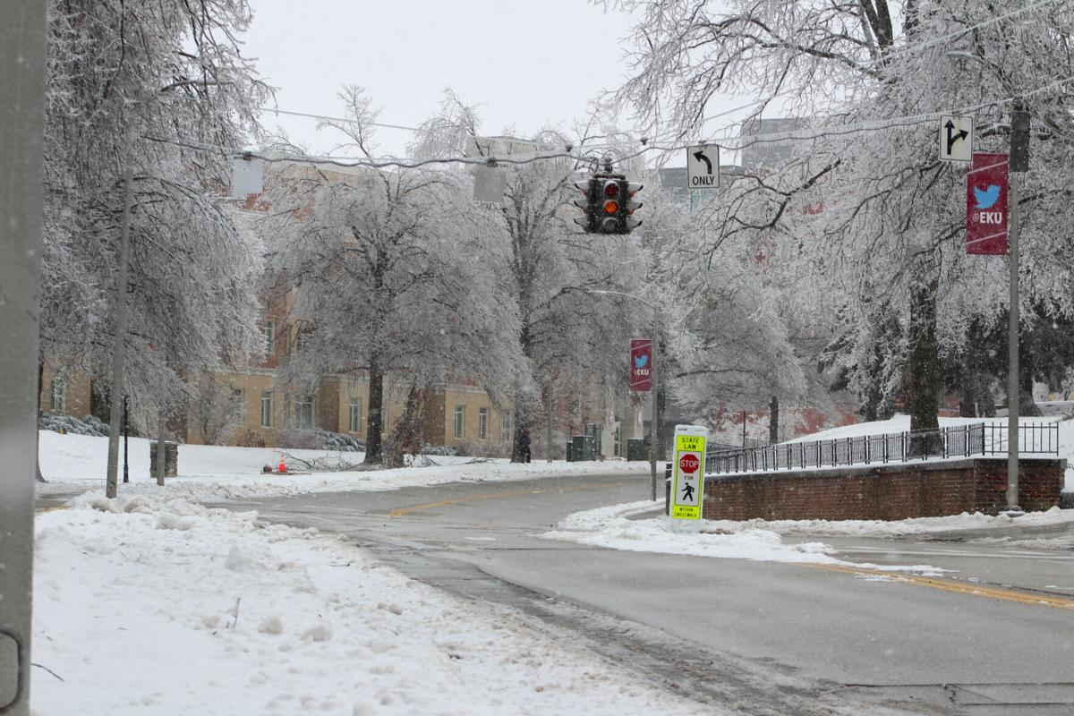 EKU moves classes virtual again due to inclement weather