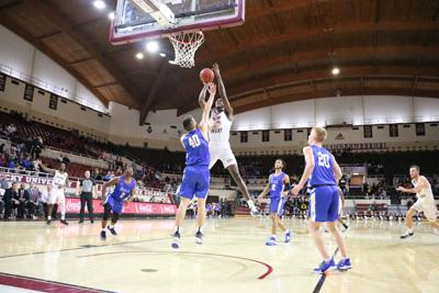 Balogun's 4,000 mile adventure to EKU basketball