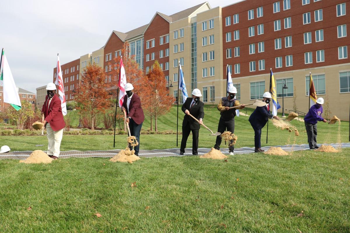 NPHC Memorial Plaza groundbreaking