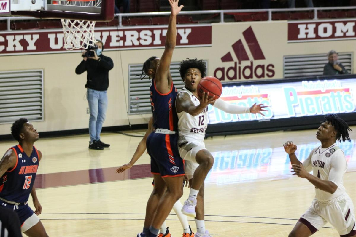 EKU men's basketball rolls to eighth consecutive win against UT Martin
