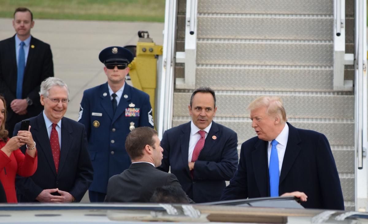 Trump Arrives