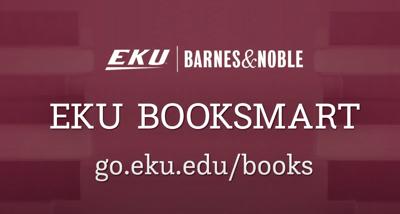 EKU BookSmart program gives students access to free textbooks