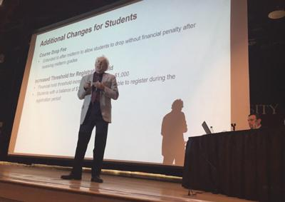 Administrators discuss potential tuition hike