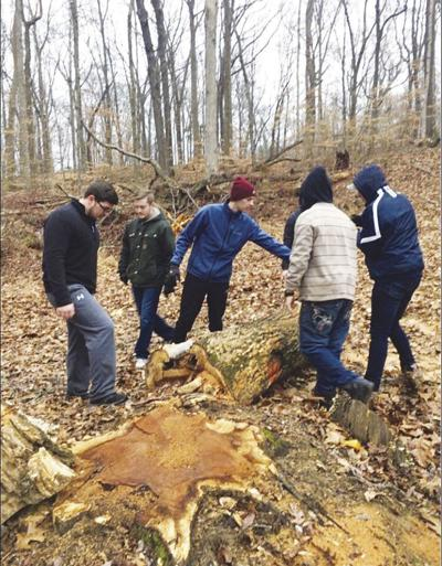 Greek Life cleans up 4-H camp