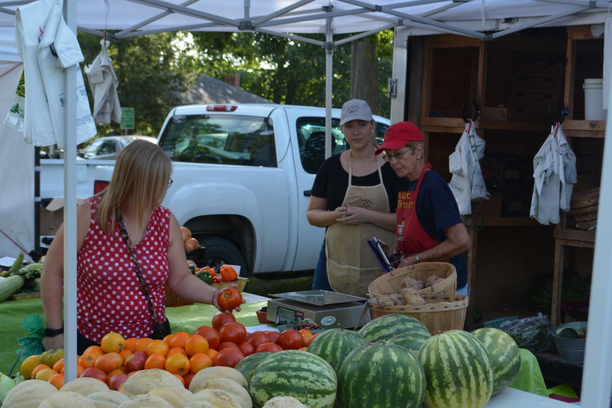 Farmer's Market moves to Irvine McDowell Park