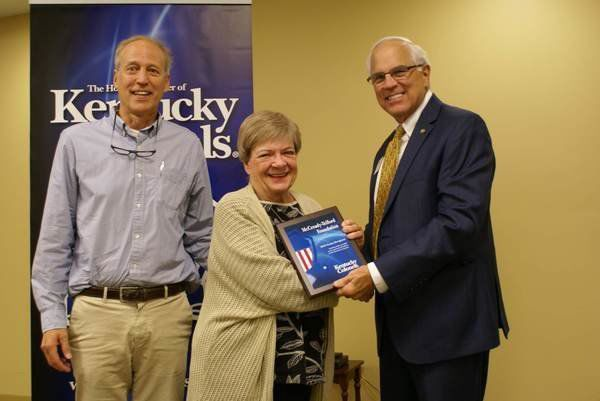 McCready-Telford Foundation receives grant, donation