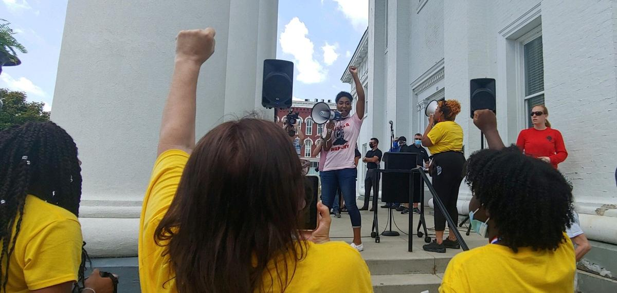 Black Lives Matter, over 350 people join Richmond march