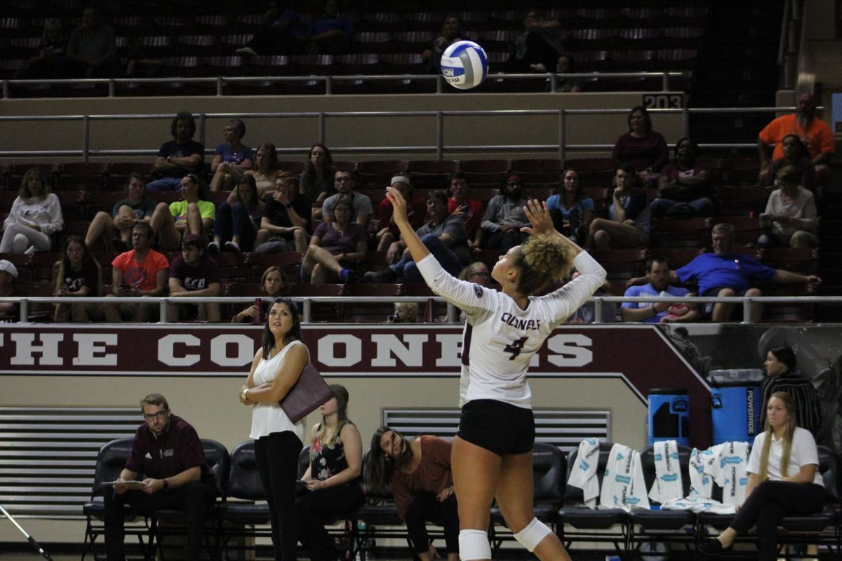 EKU volleyball falls in home opener vs. Marshall