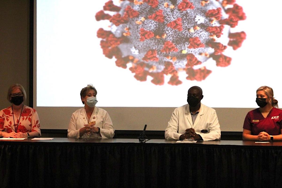 Battling vaccine hesitancy with education: EKU and Madison County Health Department hosts COVID-19 panel