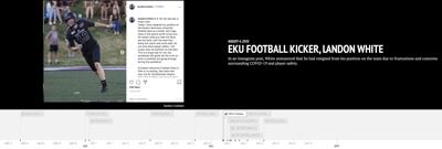 Timeline: ongoing COVID-19 concerns surrounding EKU athletics