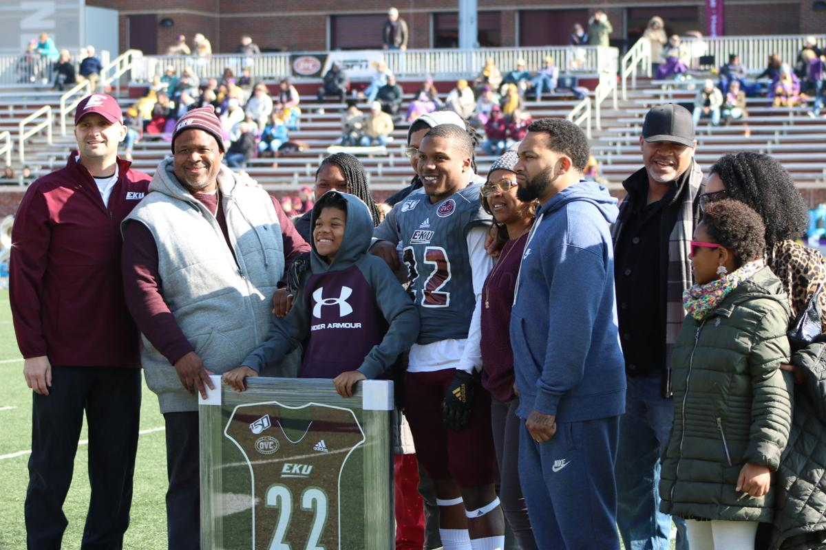 EKU football senior day