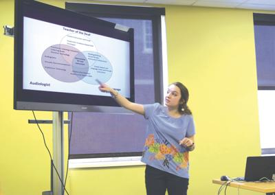 Deaf education thesis presentation