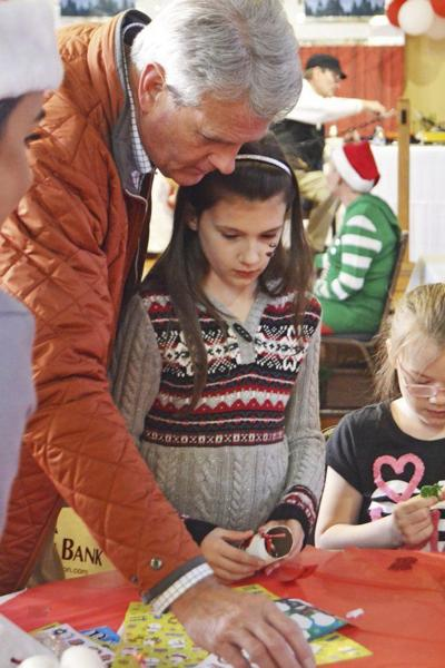 RAAC celebrating holidays with Santa, performances