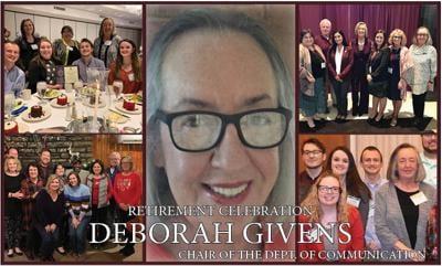 Department of Communication chair, Deborah Givens, retires after 14 years at EKU