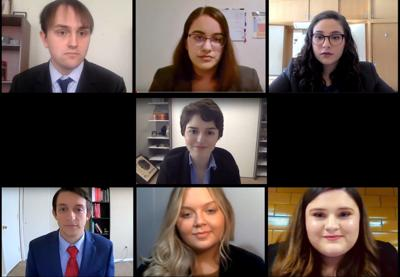 EKU mock trial competes in virtual nationals