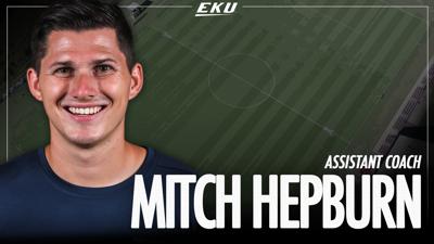 EKU soccer hires assistant coach Mitch Hepburn