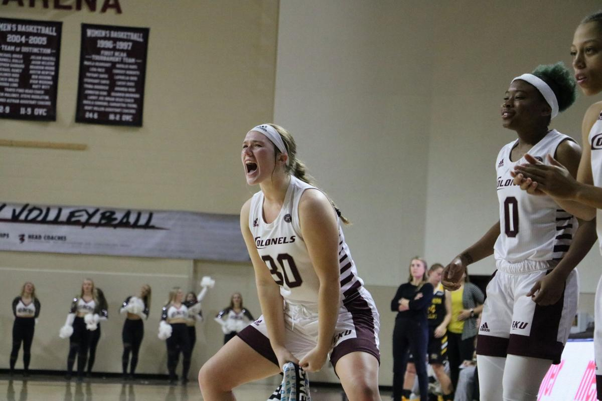 EKU women's basketball new era under Samantha Williams starts with a win over NKU
