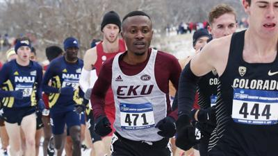 EKU men's cross country NCAA Championships