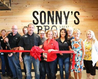 Sonny's BBQ hosts grand re-opening