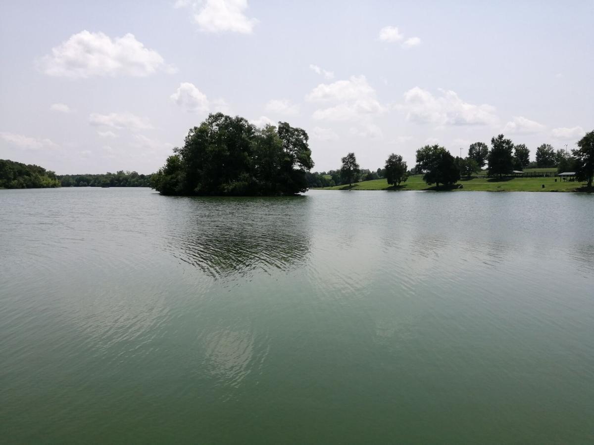 Lake Reba Island