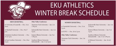Winter break: Colonel Athletics on the fast break