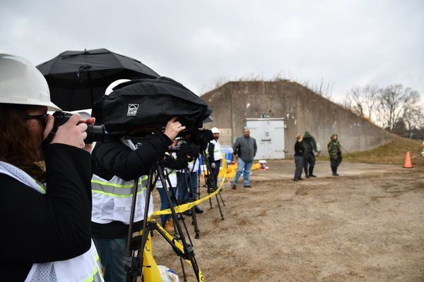 Media Day at the depot